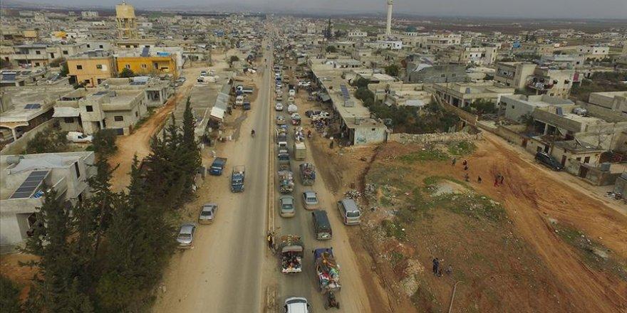 İdlib'de kasımdan bu yana 541 bin kişi yerinden edildi