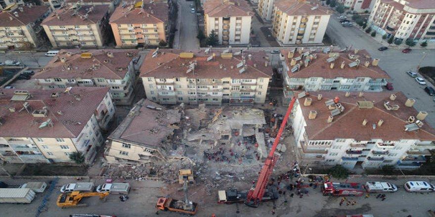 AFAD: 5 ilde 6 bin 851 bina ağır hasarlı