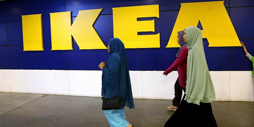 IKEA, başörtüsünü savundu müşterilerden tebrik yağdı