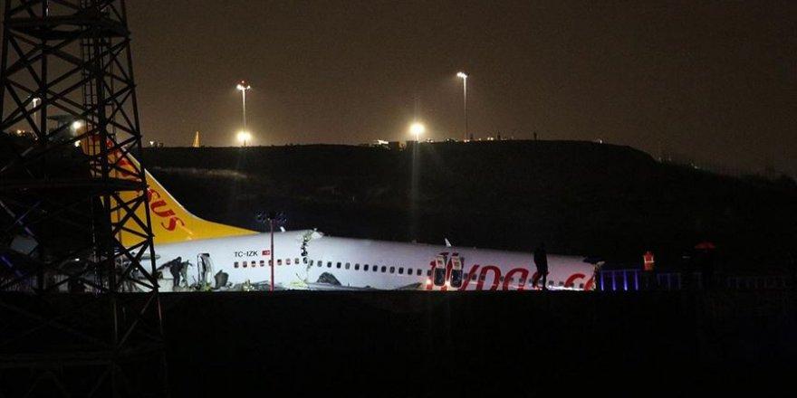 Sabiha Gökçen Havalimanında bir uçak pistten çıktı