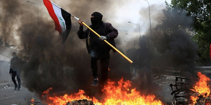 Irak'ta eylemler yeniden hız kazandı