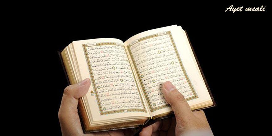 Kur'ân'da, insanlara her çeşit misâlden ve manâdan muhtelif şekillerde açıkladık