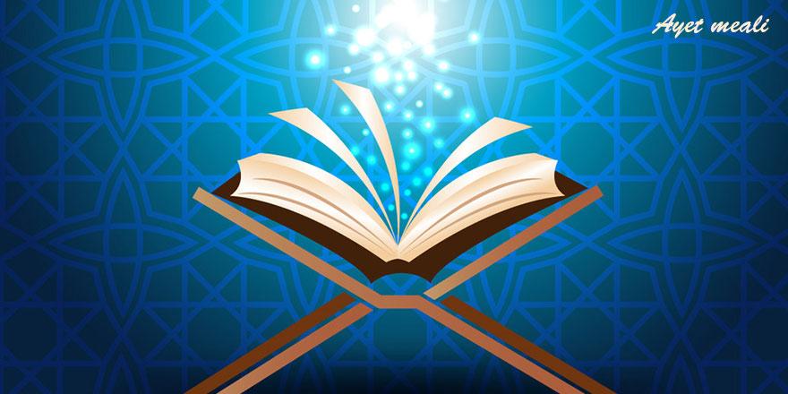 Benimle sizin aranızda şâhid olarak Allah yeter!