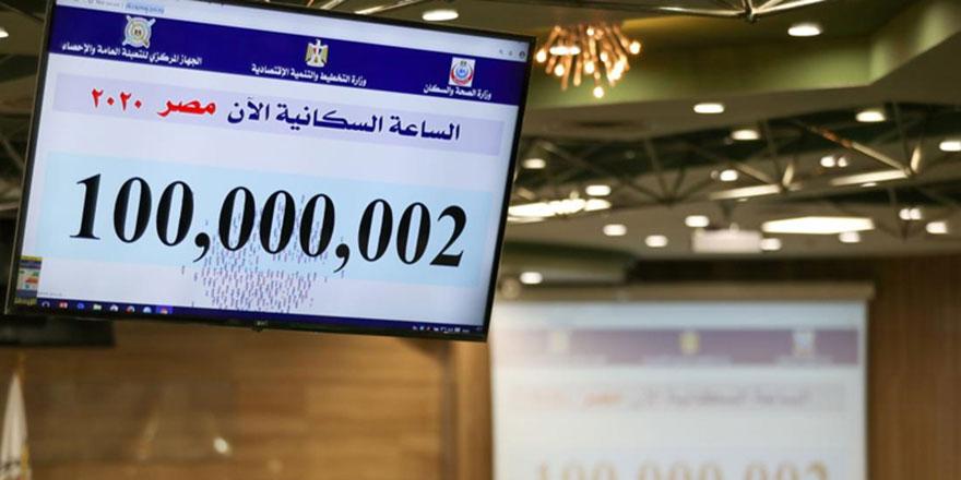 Nüfusu 100 milyonu geçen Mısır'da telaş başladı