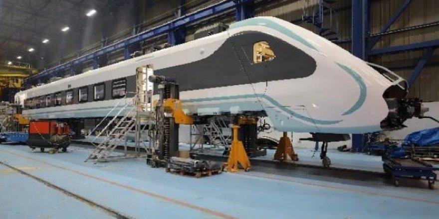 Milli elektrikli tren 29 Mayıs'ta test edilmeye başlanacak