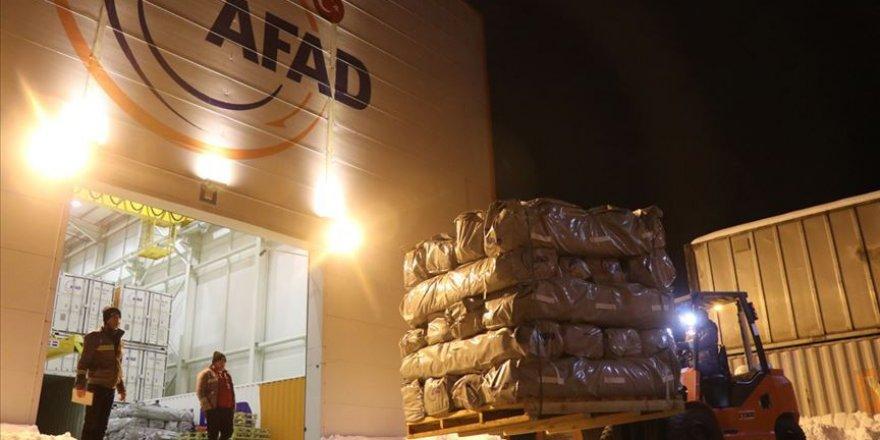 Elazığ ve Malatya valiliklerine 65 milyon lira acil yardım ödeneği gönderildi