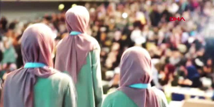 Avrupa Kadınlar Tilavet Yarışması Almanya'da düzenlendi