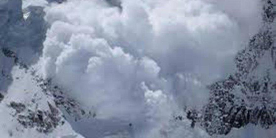 Meteorolojiden çığ tehlikesi uyarısı