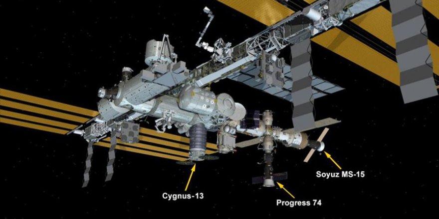 'Cyngus' kargo mekiği Uluslararası Uzay İstasyonu'na ulaştı
