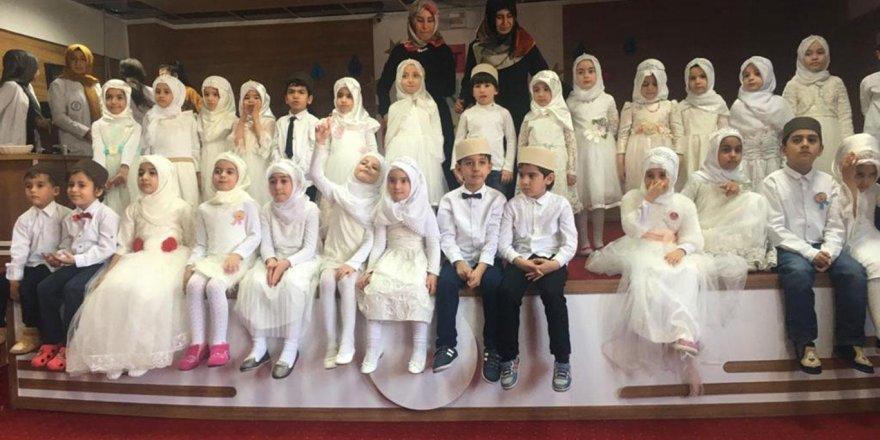 Çocuklar için Kur'an'a geçiş programı düzenlendi