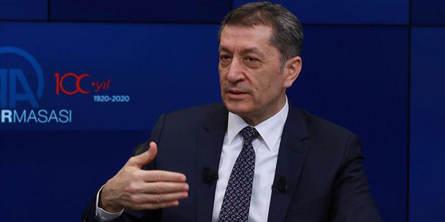 Milli Eğitim Bakanı Selçuk, okulların açılışına dair iki tarih verdi