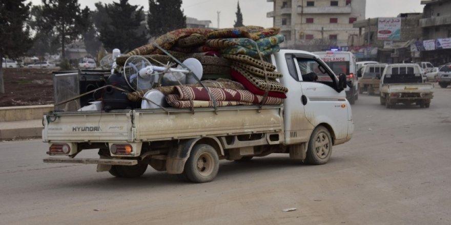 İdlib'den göç sürüyor
