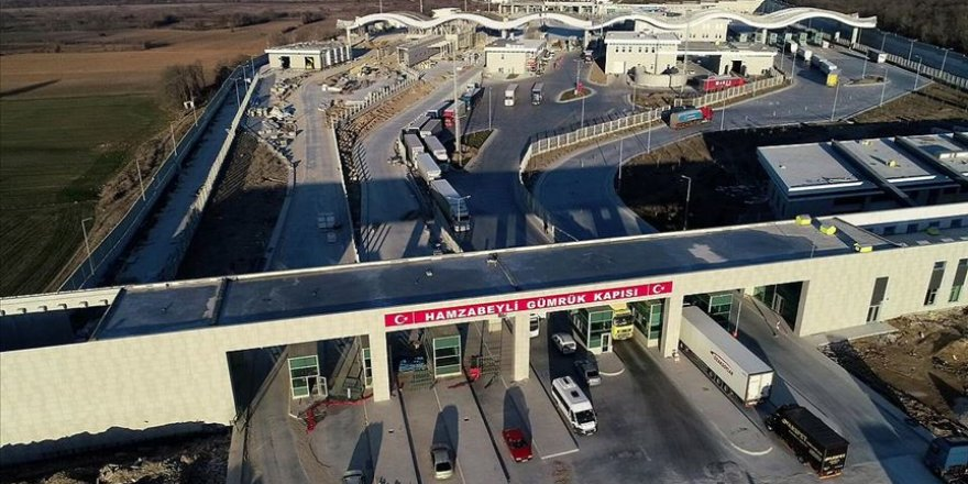 Hamzabeyli Sınır Kapısı Kapıkule'nin yükünü azaltacak