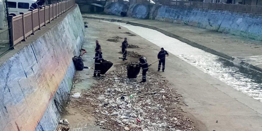 Nüfus 50 bin, toplanan çöp 80 ton