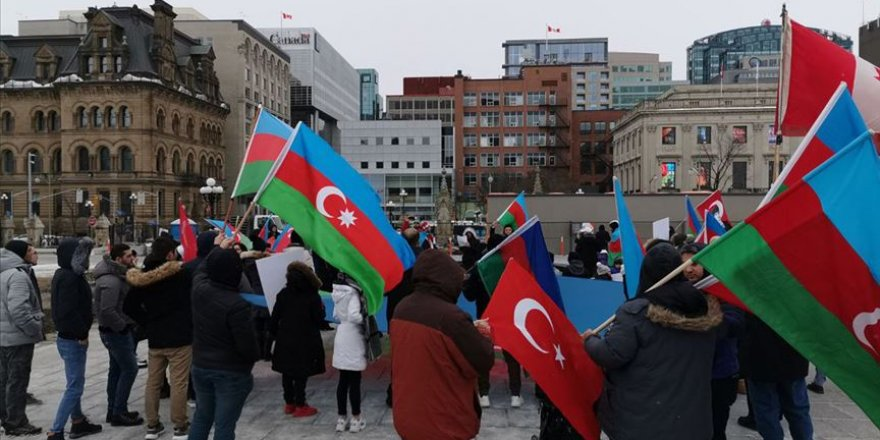 Hocalı Katliamı Kanada'da protesto edildi