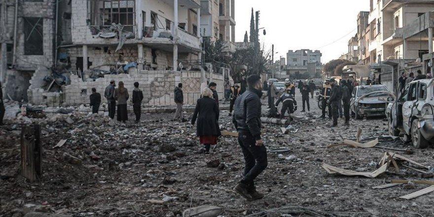 İdlib ve Hama'da hava saldırıları devam ediyor