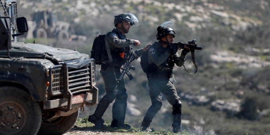 İsrail askerleri tarafından Batı Şeria'da toplam 268 Filistinli yaralandı