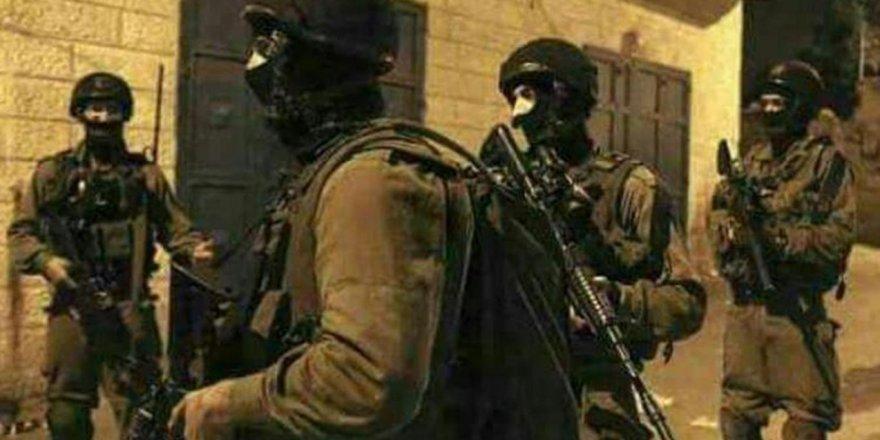 Siyonist terör çetesi, Filistinli kadın ve çocukları kaçırıyor