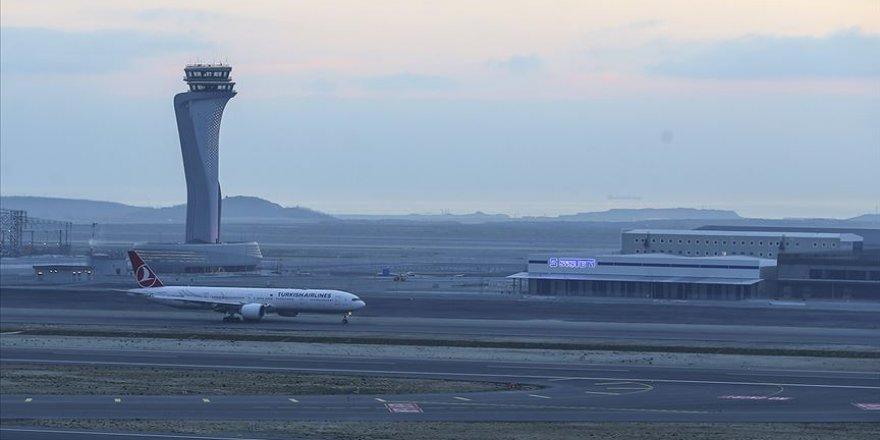 İstanbul Havalimanı'ndan kış aylarında uçan yolcu sayısı 15 milyonu aştı