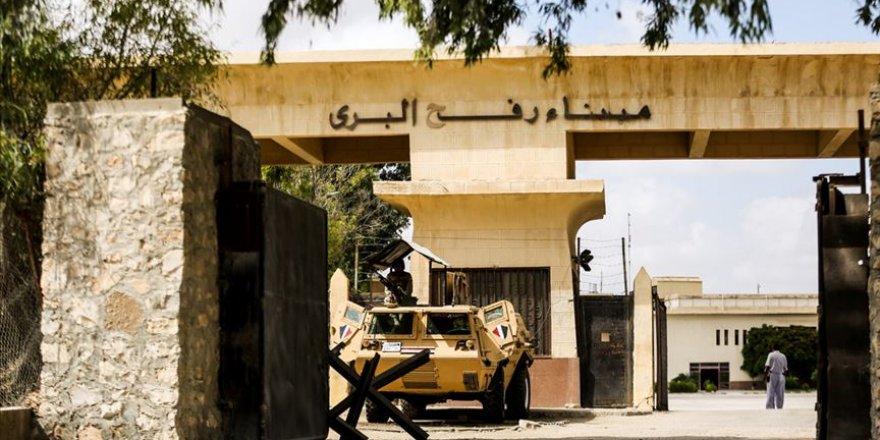 İsrail, Kovid-19 ile mücadele nedeniyle Mısır ile sınır kapısını kapattı