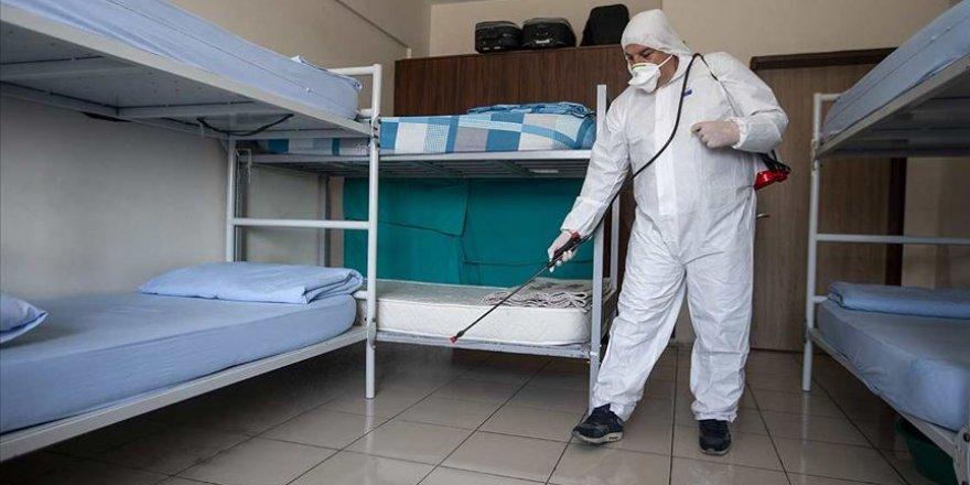 Adalet Bakanlığı yaklaşık 7 milyon metrekarelik alanı dezenfekte ediyor