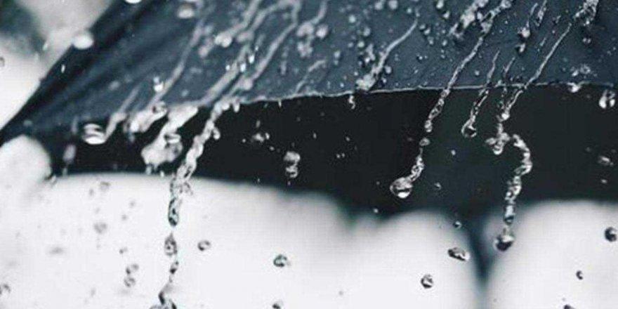 Meteorolojiden rüzgar ve kuvvetli yağış uyarısı