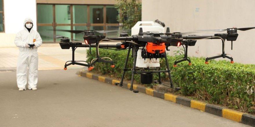 Koronavirüs ile savaşta 'drone'lar nasıl kullanılıyor?