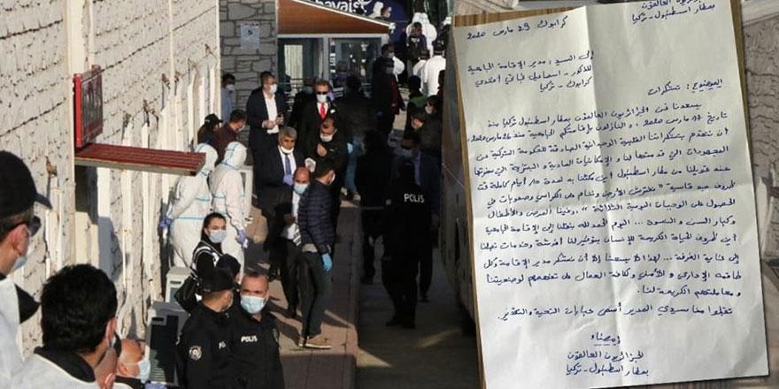 Türkiye'de tutulan Cezayirlilerden mektup: Bunu unutmayacağız