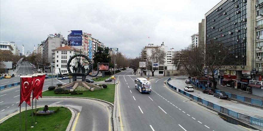 Başkentte toplu ulaşım aracı kullanımı yüzde 84 azaldı