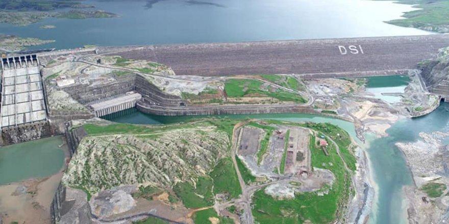 Ilısu Barajı'nda su seviyesi 100 metreye ulaştı