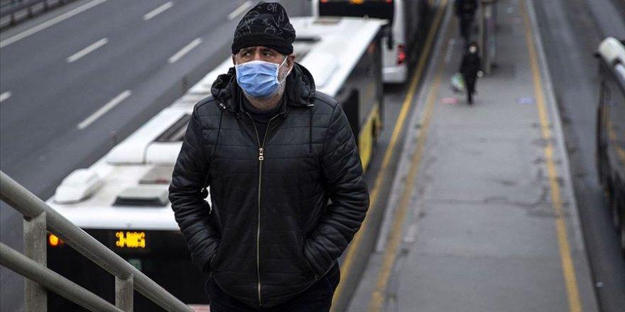 Maske Kovid-19'un nefes ve öksürük yoluyla yayılma zincirini kırıyor
