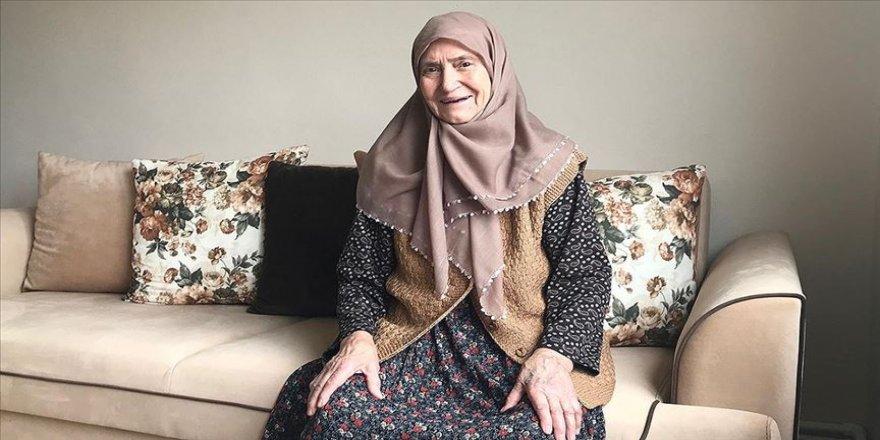Koronavirüsten 86 yaşında şifa bulan Remziye annenin duası