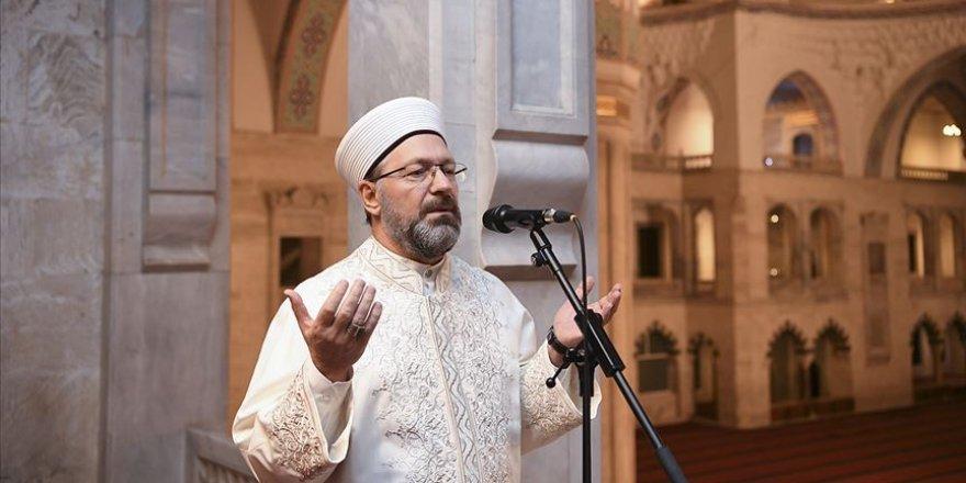 Diyanet İşleri Başkanı Erbaş 'Berat Kandili Özel' programında dua edecek
