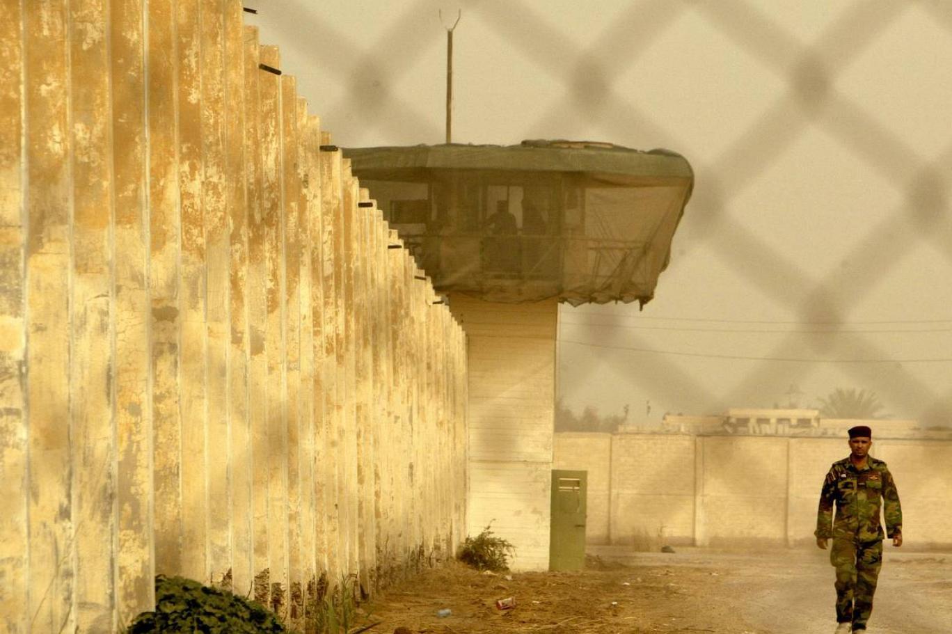 ABD 'Ebu Gureyb Üssü'nü boşaltıyor
