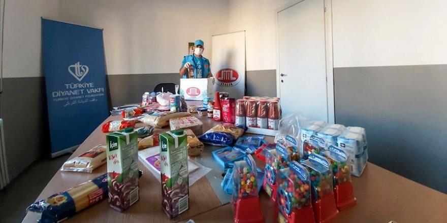 DİTİB İtalya ihtiyaç sahiplerinin yardımına koşuyor