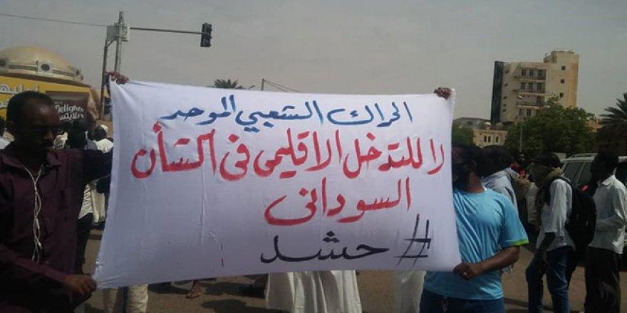 Sudan'da yüzlerce kişiden 'ekmek' protestosu