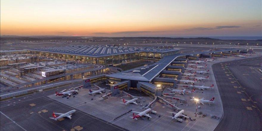 İstanbul havalimanlarındaki yolcu sayısı yılın ilk çeyreğinde 20 milyona yaklaştı