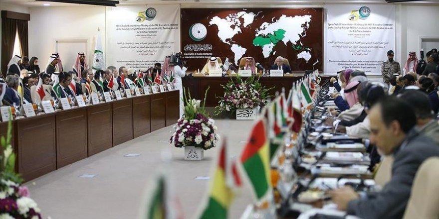 Mescid-i Aksa için kurulan İslam İşbirliği Teşkilatı, İsrail'e ambargo uygulamalı