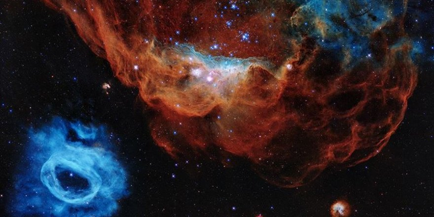 Kozmosun yeni görüntüsü Subhanallah dedirtti