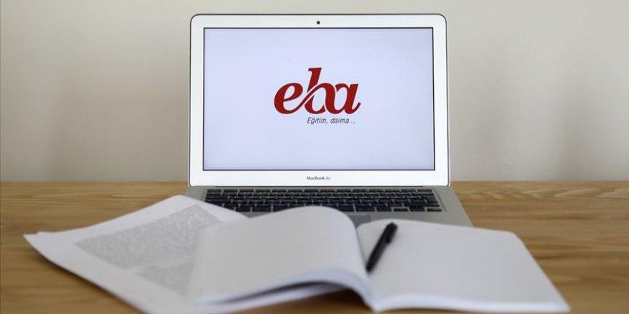 EBA'da 08.30'dan 20.20'ye kadar istenilen saatte canlı ders yapılabilir