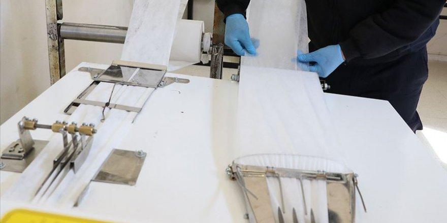 İş yurtlarındaki hükümlülerden sağlık çalışanlarına 5 milyon maske