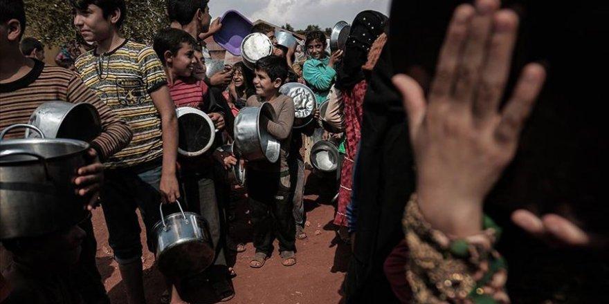 Suriye'de 8 milyon sivil gıda güvensizliği yaşıyor
