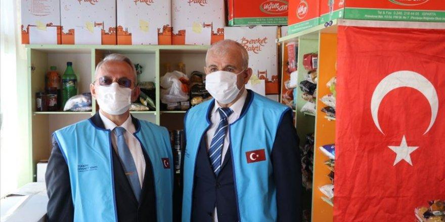Isparta'da imam caminin bir bölümünü 'hayır marketi'ne dönüştürdü