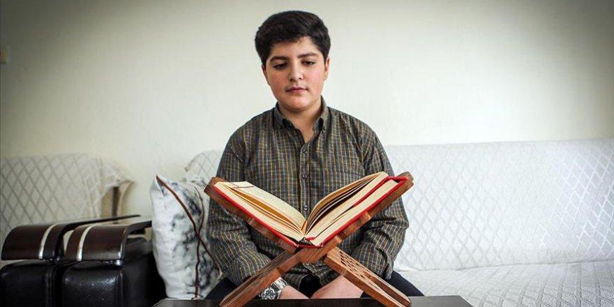 Kur'an okuma yarışmasının 15 yaşındaki finalisti: Talebe yetiştirmek istiyorum
