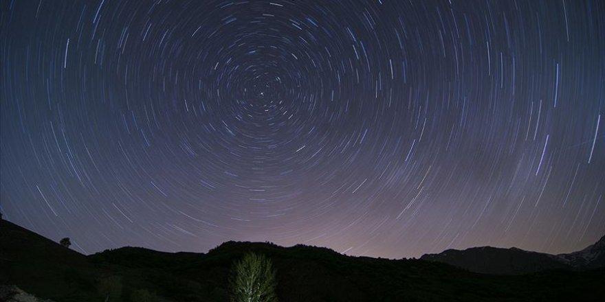 Ovacık'ta yıldızların görsel şöleni