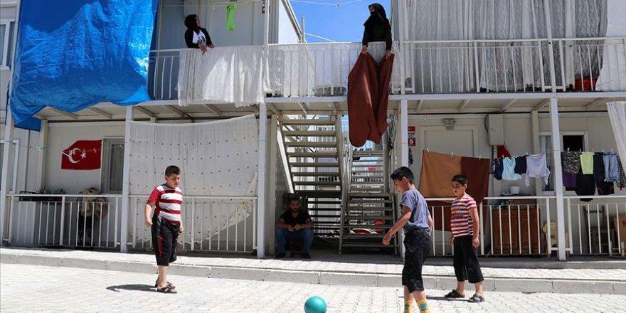 Ramazan Bayramı'nı konteyner kentlerde kutlayacaklar
