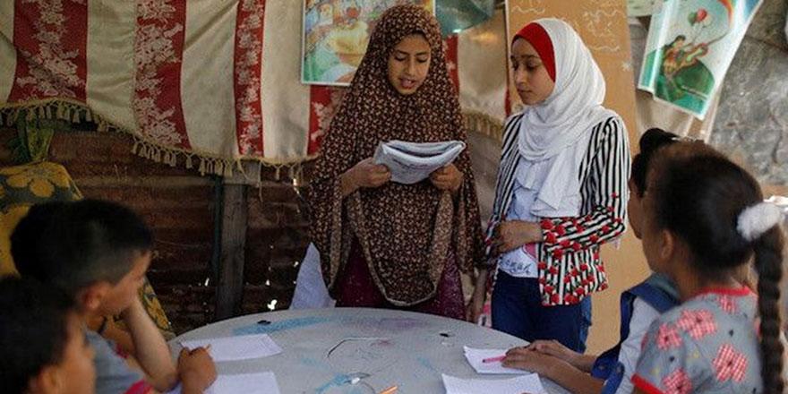Gazze'de öğrenciler büyük başarı gösterdi
