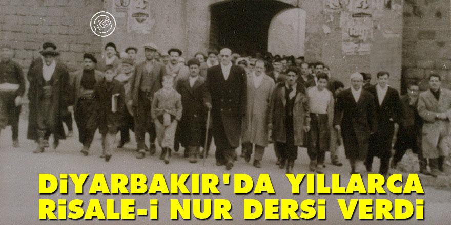 Mehmet Kayalar, Diyarbakır'da yıllarca Risale-i Nur dersi verdi