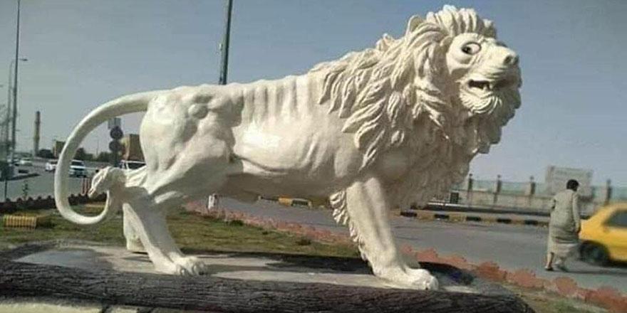 Bu ucube heykele 65 bin dolar harcadılar
