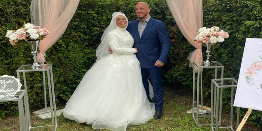 İslamı seçen Avusturyalı şampiyon Ott'un nişanlısı da Müslüman oldu